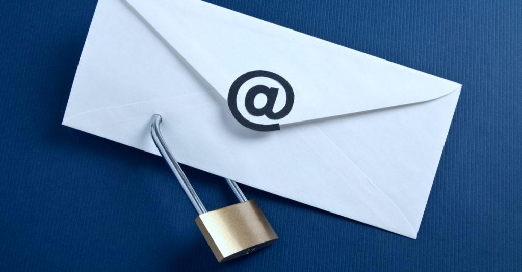 Encrypt Data Collection Email Correspondence